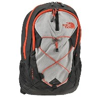 The North Face Jester Backpack TNF Black/Fiery Red Size One Size [並行輸入品]