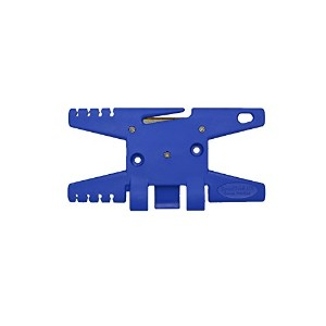 Paracord Spool Tool (Blue)- Holds up to 100' of Parachute Cord by TricornE