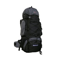 Discovery 80 Internal Frame Camping Hiking Backpack (Gray) [並行輸入品]