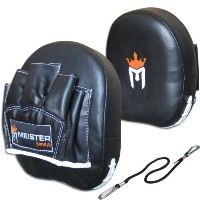 Contour Padded Target Punch Mitts (Pair) for MMA & Boxing [並行輸入品]