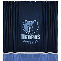 NBA Memphis Grizzlies Not applicabe、ミッドナイト、72 x 72