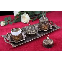 ( Choose Yourセット) 6xトルコスタイルTea Glasses with Holders Lids and Saucersセット、100ml (シルバーwith Lids )