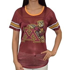 Minnesota Golden Gophers Womens Athletic Dri - FitメッシュTシャツ L