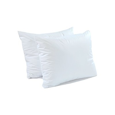 (Pillow Protector - Queen Size - Pack of 2) - Queen Size 2 Pack Pillow Protector - Extra Soft Knit ...