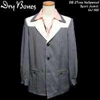 DRY BONESドライボーンズ◆DB 2Tone Hollywood Sport Jacket◆ DJ-932