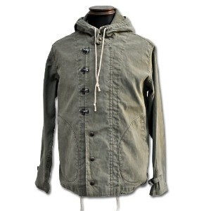 【Buzz Rickson's バズリクソンズ】パーカージャケット/BR12989 WET WEATHER PARKA★送料・代引き手数料無料!