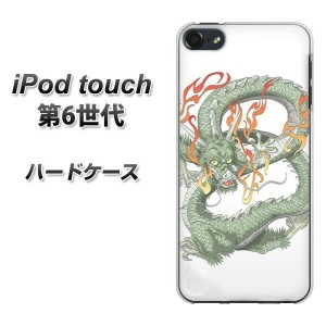 iPod touch 6 第6世代 ハードケース / カバー【1002 緑龍 素材クリア】 UV印刷 ★高解像度版(iPod touch6/IPODTOUCH6/スマホケース)