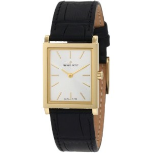 Pierre Petit Nizza Women's Calfskin Sapphire Glass Quartz Watch P-790C
