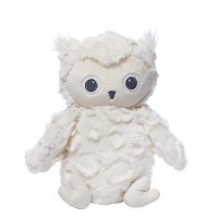 Gund Baby Greary Owl Stuffed Animal Baby Rattle by GUND