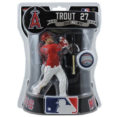 "Imports Dragon 2017 MLB Angels 6 "" Mike Trout Exclusive Figure代替Uniformバージョン"
