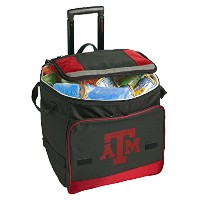 Texas A & M Rolling Cooler Texas A & M Aggiesクーラーバッグwith Wheels