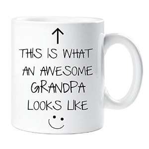 Buycrafty This is What an Awesome Grandpa Looks like - 11 Oz Mug - Gift Funny Humor, Unique Gift,...