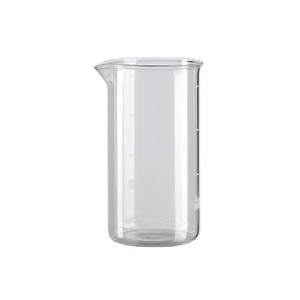 Bialetti Cafetiere Spare Glass, Transparent, 1 Litre 8 Cup by Bialetti