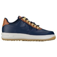 (取寄)Nike ナイキ メンズ ルナ フォース 1 ダックブーツ ロー Nike Men's Lunar Force 1 Duckboot Low Obsidian Obsidian Saddle...