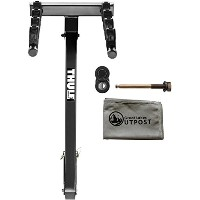 "Thule Parkway - 4 バイク (2"" rec.) Hitch Mount Rack with Snug-Tite ロック and クロス (海外取寄せ品)"