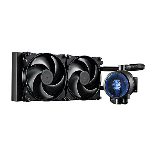 Cooler Master masterliquid Lite 120 All - in - One CPU液体Cooler with Dual Chamberポンプ( mlw-d12 m...