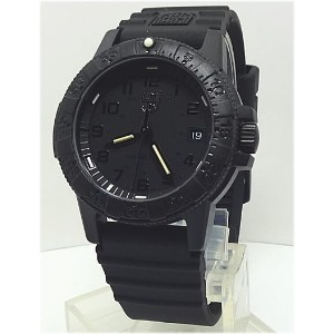 【あす楽対応】LUMINOX ルミノックス 39mmSEA TURTLE 0300 SERIES BLACKOUT 0301.BO