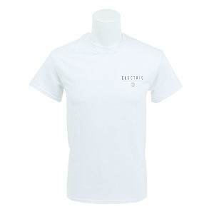 ELECTRIC(ELECTRIC) SUPPORT LOCAL TEE E17WT01 WHITE メンズ 半袖Tシャツ (ホワイト/L/Men's)