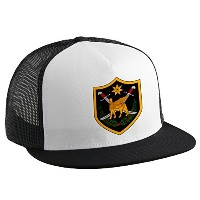 Trucker Hat with多国籍Force–イラク( mnf-i、Insignia