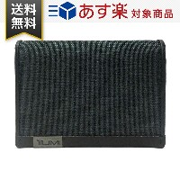 TUMI トゥミ カードケース 119256ATID Alpha SLGs Gusseted Card Case With ID アルファ ガセット メンズ カードケース Anthracite...