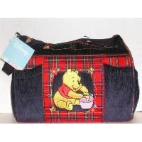 Disney Winnie the Pooh Baby Shower Corduroy Diaper Bag by Disney