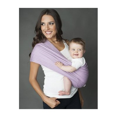 Seven Everyday Slings Infant Carrier Baby Sling Koi Purple Size 4 Medium by Seven Everyday Slings