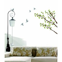 Dream Wall Decal, Lampost by wall dream