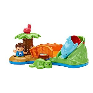 Fisher-Price Little People Spill 'n Surprise Island Baby Toy [並行輸入品]