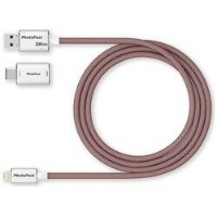 PHOTOFASTUSB-C+Lightning - USB-A 3.1メモリ[Mac/Win] (200GB・レッド) GEN3LC200G-RED