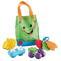 Fisher-Price Laugh and Learn Sing n' Learn Shopping Tote [並行輸入品]