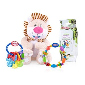 Nuby Teether and Toy Gift Set [並行輸入品]