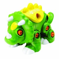 Happy Kid Toy Group Create and Play Dino Stacking Toy (29-Piece) [並行輸入品]