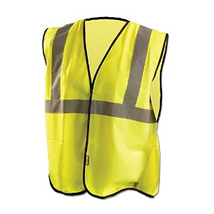 Occunomix ECO-G-YL/XL Value Solid Standard Vest, Class 2, Large/X-Large, Yellow by Occunomix