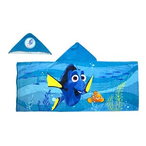 Finding Dory Hooded Towel [並行輸入品]