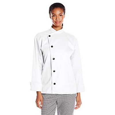 Uncommon Threads 0482-2505 Rio Chef Coat in White - XLarge