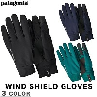 patagonia(パタゴニア) Wind Shield Gloves S BLK