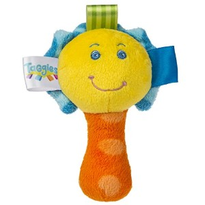 Taggies Colours Mini Rattle by Taggies