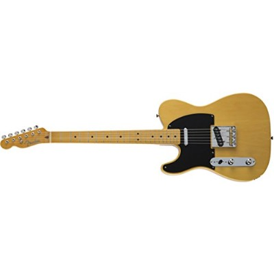 Fender エレキギター MIJ Traditional '50s Telecaster® Left-Hand Maple Vintage Natural