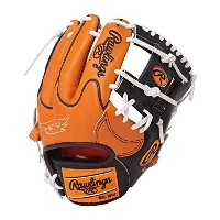 Rawlings(ローリングス)軟式グラブ HOHカラーシンクパッチ Japan Limited GR7FHHS44L ORG×Bオレンジ×ブラック LH