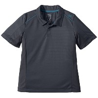 Wilson – Boys ' NVISION Elite Tennis Polo Coal – ( wra711603-u15 ) グレー
