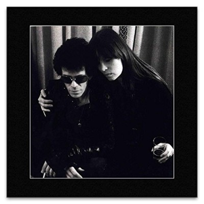 LOU REED AND NICO - London 1976 Matted Mini Poster - 29.7x24cm