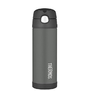 Thermos Funtainer Bottle, 16-Ounce 水筒 チャコール