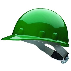 Fibre-Metal 280-E2RW74A000 Thermoplastic Superlectric Green Hard Cap W-3-R