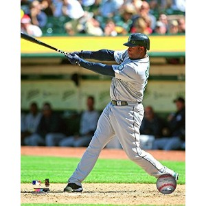 """Ken Griffey Jr. Seattle Mariners MLB Action Photo (Size: 8"""" x 10"""") by Photo File [並行輸入品]"""