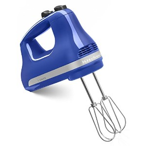 KitchenAid KHM512TB 5-Speed Ultra Power Hand Mixer, Twilight Blue [並行輸入品]