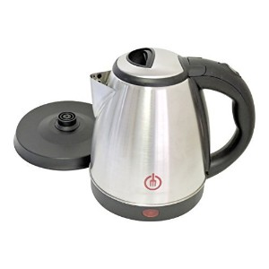 1.5L Cordless Electric Kettle Stainless Steel 120V with Automatic Shutoff [並行輸入品]