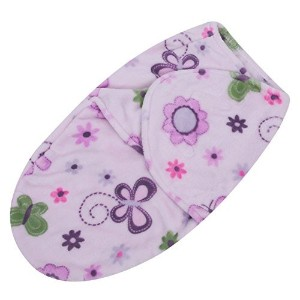 EasydealソフトコーラルベルベットNewborn Baby Receiving Blanket WrapおくるみSleepingバッグ