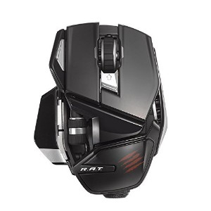 Mad Catz Office R.A.T. Wireless Mouse for PC and Android - Gloss Black [並行輸入品]