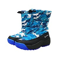 (エアウォーク) AIRWALK 17 SNOWBOOTS BOYS M ブルー