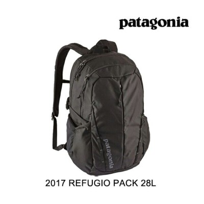2017 PATAGONIA パタゴニア バックパック REFUGIO PACK 28L BLK BLACK